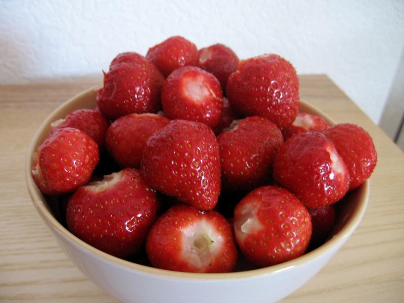 Ich liebe Erdbeeren
