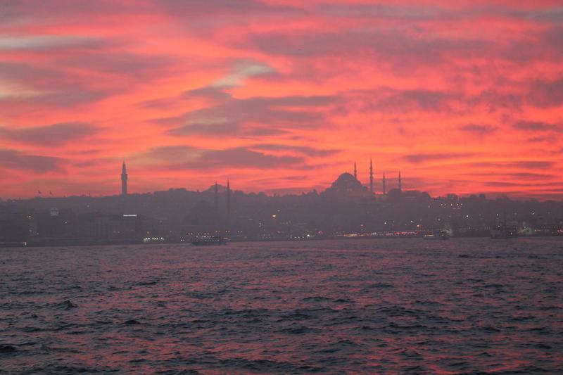 Istanbul brennt